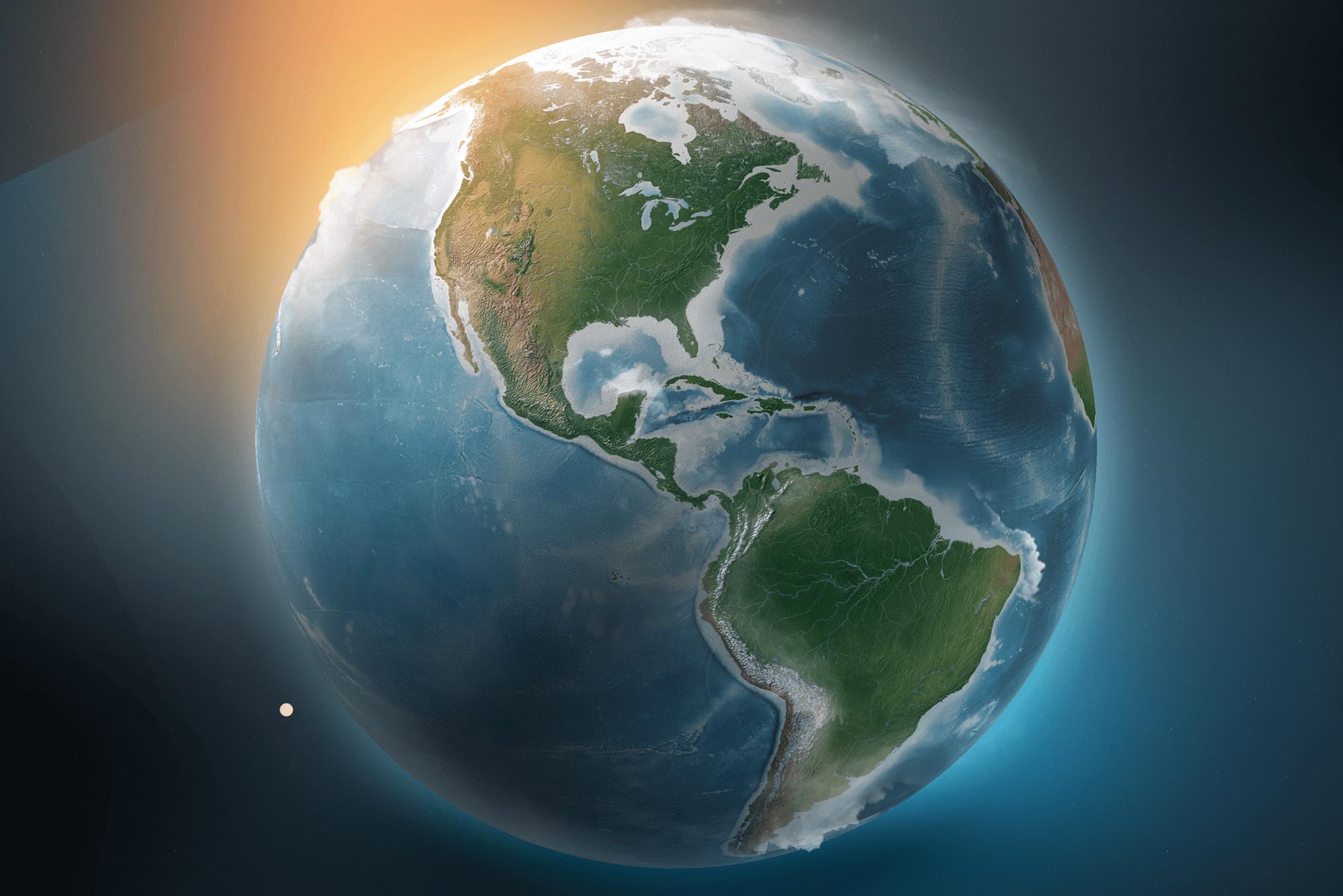 3D-5D Welt Aufstieg